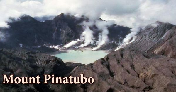 Mount Pinatubo, Philippine