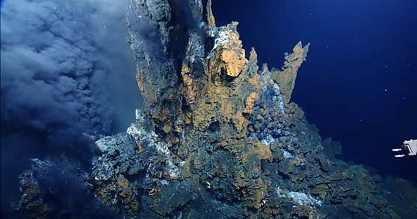Newly Discovered Type Of Rock Reveals Spectacularly Hot Eruptions Beneath The Ocean