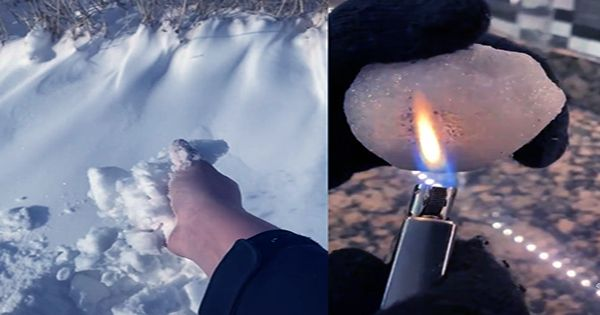 """People Are Burning And Microwaving Snow To """"Prove"""" It's Fake – It's Not"""