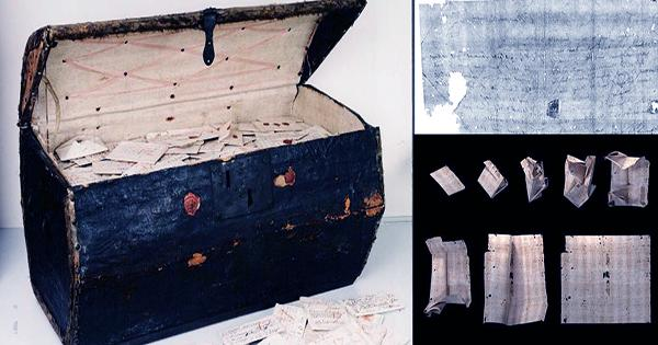 Precision X-Rays Reveal Contents Of Sealed And Folded 17th Century Letters