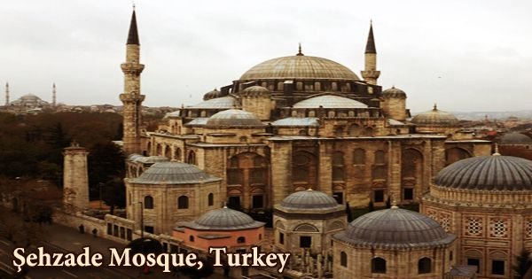 A Visit To A Historical Place/Building (Şehzade Mosque, Turkey)