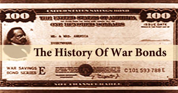 The History Of War Bonds