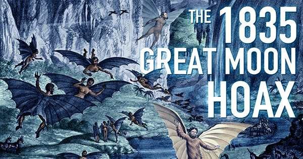 "The Infamous ""Great Moon Hoax"" Of 1835 Is As Weird As It Sounds"