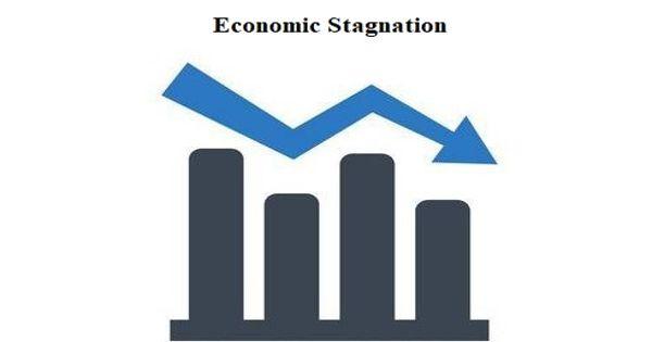 Economic stagnation – a prolonged period of slow economic growth