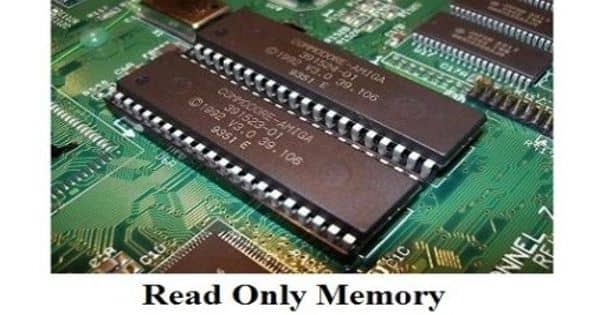 Read-only memory – a type of non-volatile memory