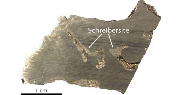 Schreibersite – a rare iron-nickel phosphide mineral