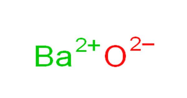 Barium oxide – a white hygroscopic non-flammable compound