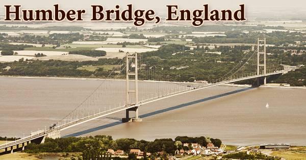 Humber Bridge, England
