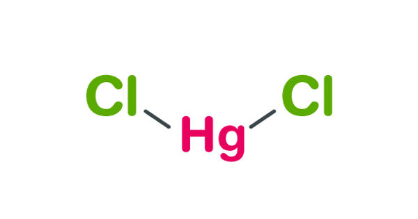 Mercuric chloride – a chemical compound of mercury and chlorine