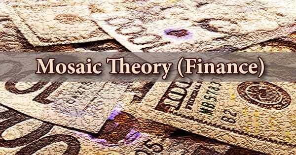 Mosaic Theory (Finance)