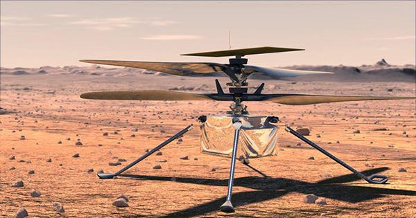 The Mars Helicopter Is Ready For Its Touchdown