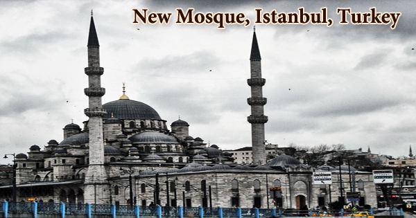 New Mosque, Istanbul, Turkey