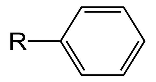 Phenyl group – a cyclic group of atoms