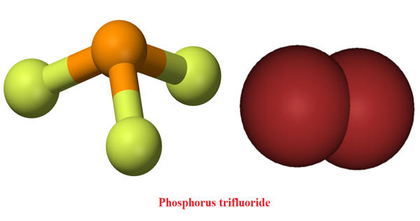 Phosphorus trifluoride – a colorless and odorless gas