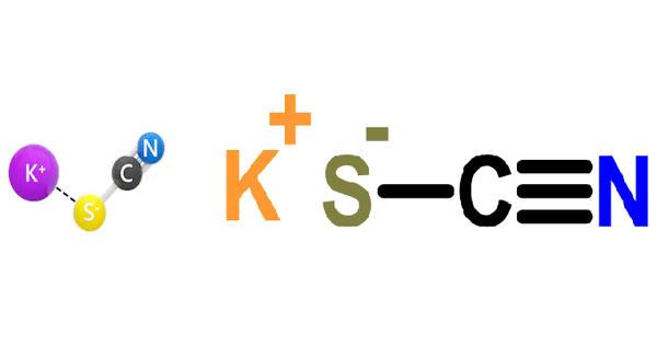 Potassium thiocyanate – a chemical compound