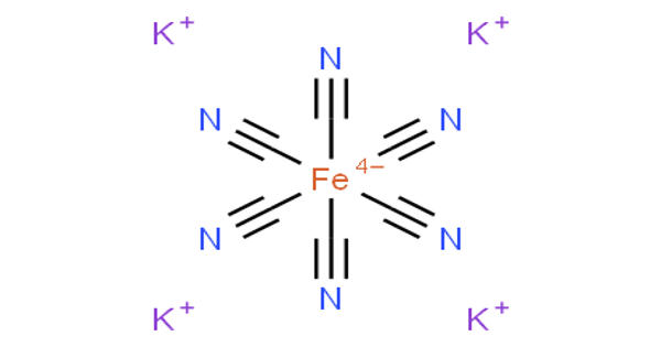 Potassium ferrocyanide – an inorganic compound