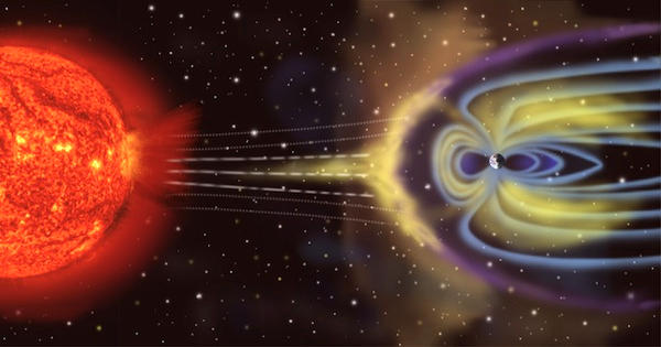 Researchers investigating the effects of solar flares on Earth's magnetosphere