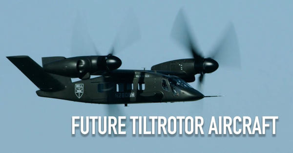 Researchers plan to test Wind tunnel to design future TiltRotor Aircraft