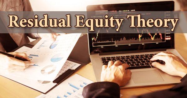 Residual Equity Theory