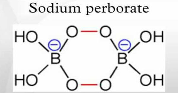 Sodium perborate – a chemical compound