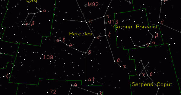 Alpha Herculis – the brightest star in the Hercules constellation