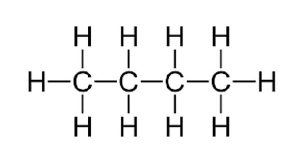 Butane – a highly flammable alkane