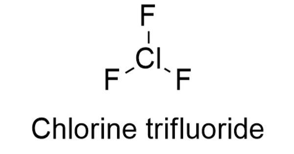 Chlorine trifluoride – an interhalogen compound