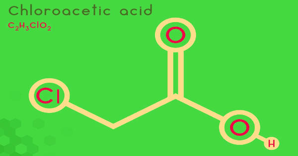 Chloroacetic acid – an organochlorine compound