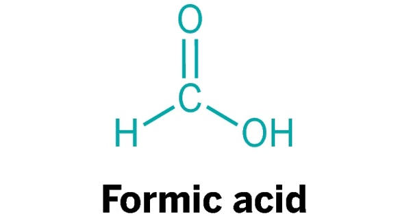 Formic Acid – a reagent comprised of the organic chemical