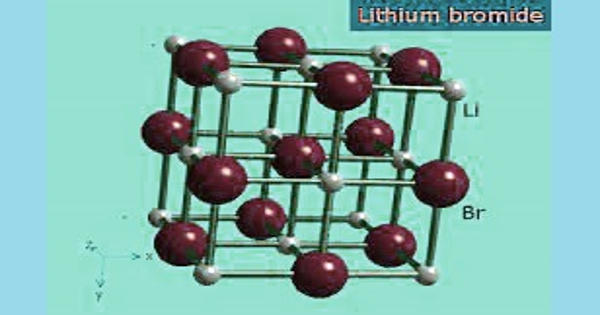 Lithium bromide – a chemical compound of lithium and bromine