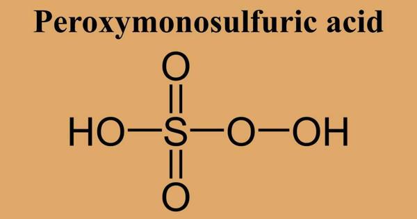 Peroxymonosulfuric acid – a sulfur oxoacid