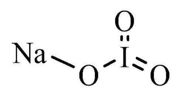 Sodium iodate – an organic molecular entity