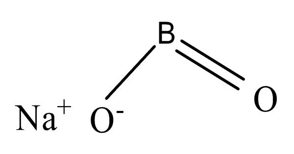 Sodium metaborate – a colorless solid chemical compound