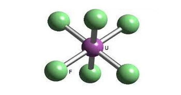 Uranium hexafluoride – a chemical compound