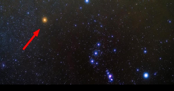 Betelgeuse – a Large Red Supergiant Star in the Orion Constellation