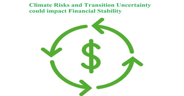 Climate Risks and Transition Uncertainty could impact Financial Stability