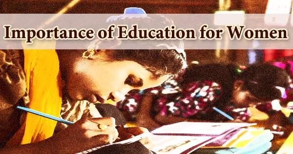 Importance of Education for Women