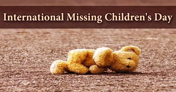 International Missing Children's Day