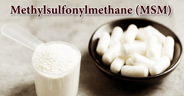Methylsulfonylmethane (MSM)