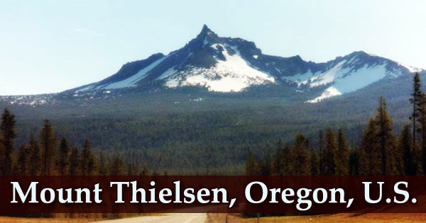 Mount Thielsen, Oregon, U.S.