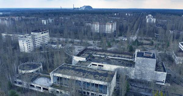 Nuclear Reactions Flare Up Deep inside Chernobyl's Ruins