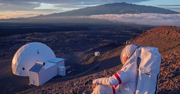 Scientists In Spacesuits Are Exploring Hawaiian Lava Tubes Like They Are On Mars