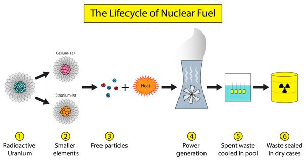 Spent Nuclear Fuel from Power Plants is Potential to Produce Electricity