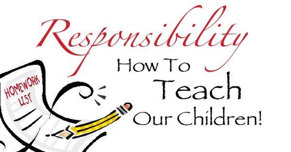 Teaching Responsibility to Children – an Open Speech