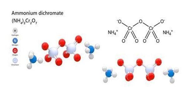 Ammonium Dichromate – a Flammable Inorganic Compound