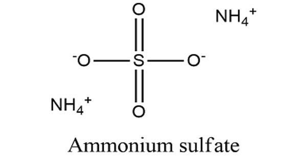 Ammonium Sulfate – an Inorganic Sulfate Salt