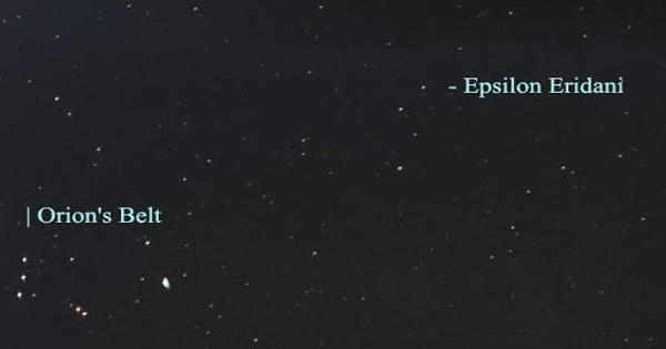 Epsilon Eridani – a Star in the Southern Constellation