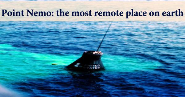 Point Nemo: the most remote place on earth