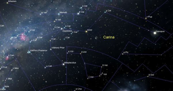V382 Carinae – a Yellow Hypergiant Star