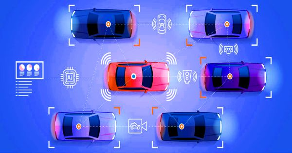 A New AL Based Early Warning System for Self-driving Vehicles